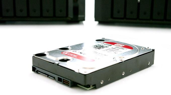 A NAS hard drive