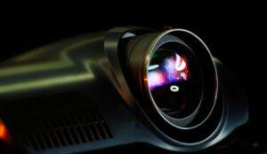 Flickering projector