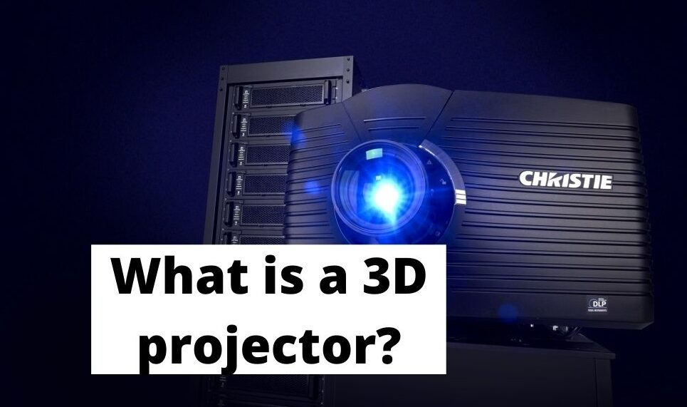 What is a 3D projector_